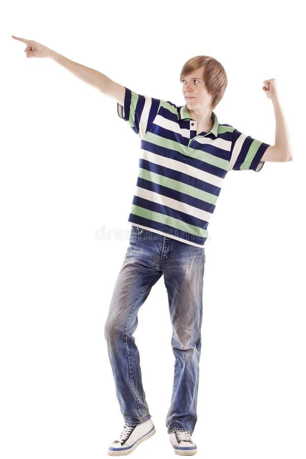 Sperrung oder Hip-hop Tanzen des jungen Mannes stockfotos