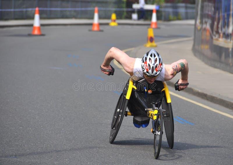 Sperrungen des London-Marathons 2011 lizenzfreie stockfotografie