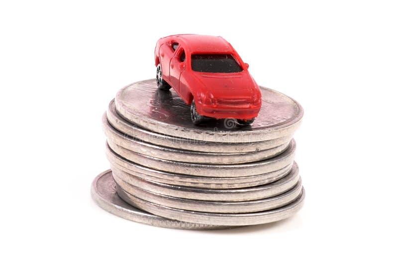 Spese dell'automobile fotografia stock