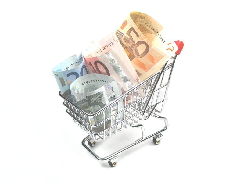 Spese di acquisto immagine stock
