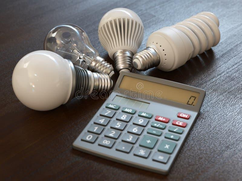 Spese di energia fotografia stock libera da diritti