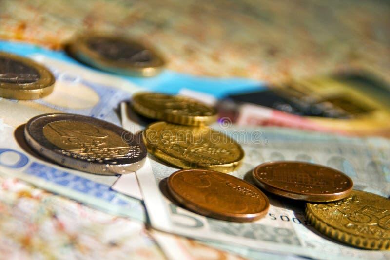 Spese di viaggio fotografia stock