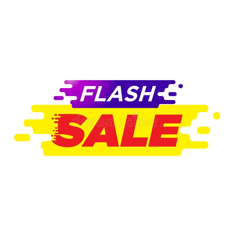 Spesial offer. flash sale tags. shopping discount royalty free illustration