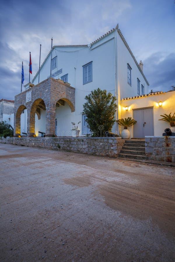 Spetses island. royalty free stock photo