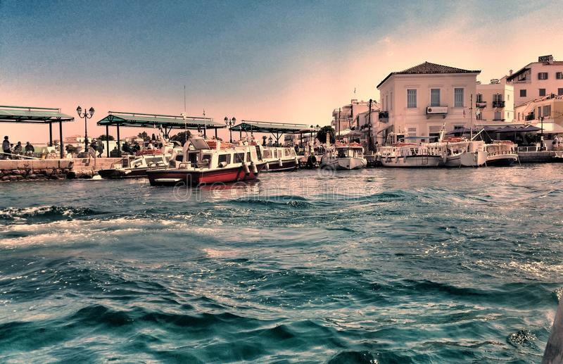 Spetses: the realm of John Fowles's The Magus royalty free stock photography