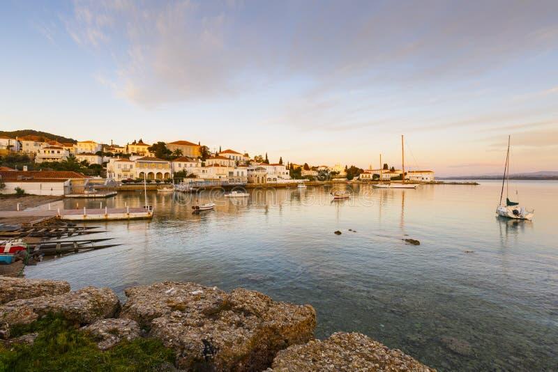 Spetses wyspa zdjęcia stock