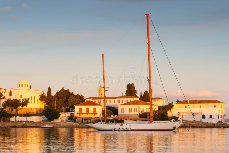 Spetses wyspa obraz stock