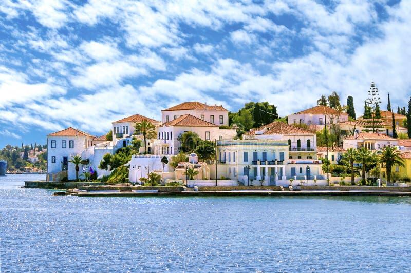Spetseseiland Griekenland royalty-vrije stock foto's