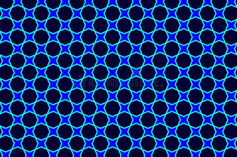 Spetsig stjärna fyra vektor illustrationer