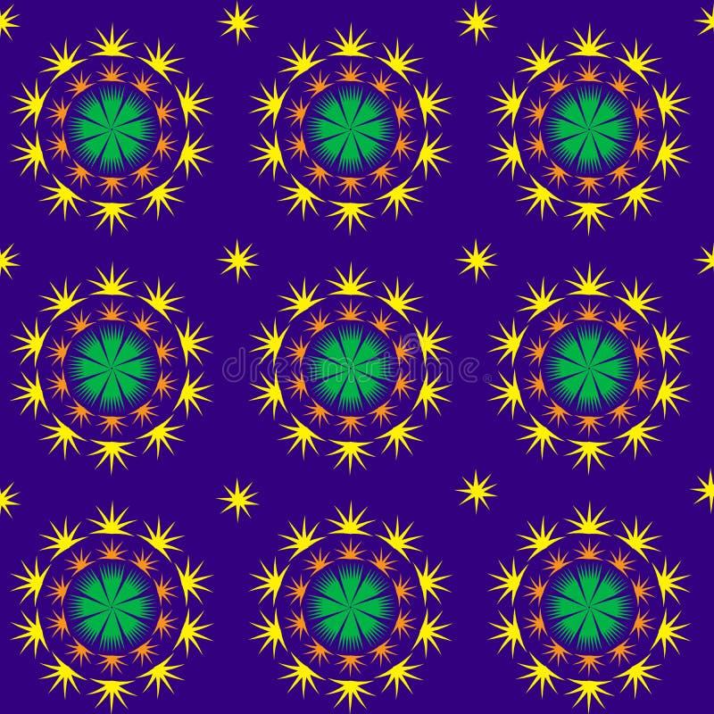 Spetsig stjärnklar modell vektor illustrationer
