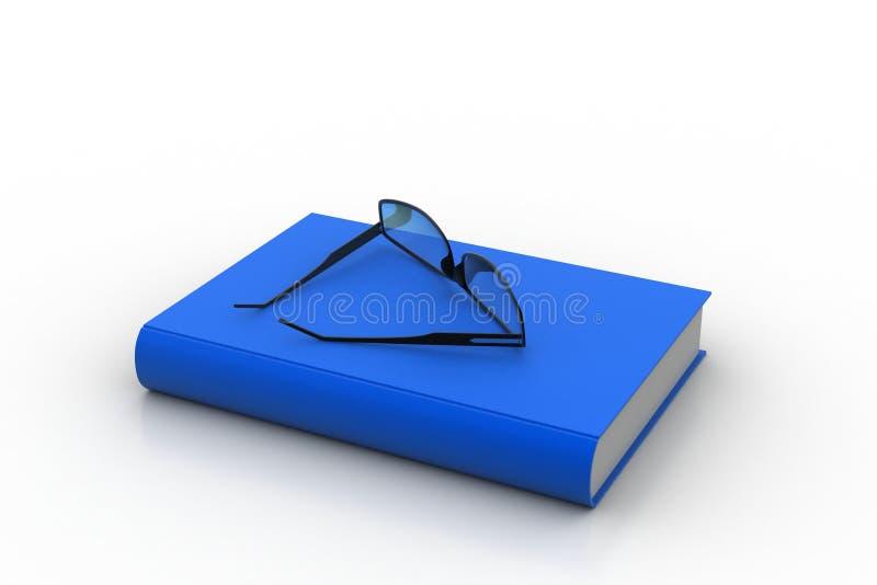 Spettacolo sulla cima del libro illustrazione di stock