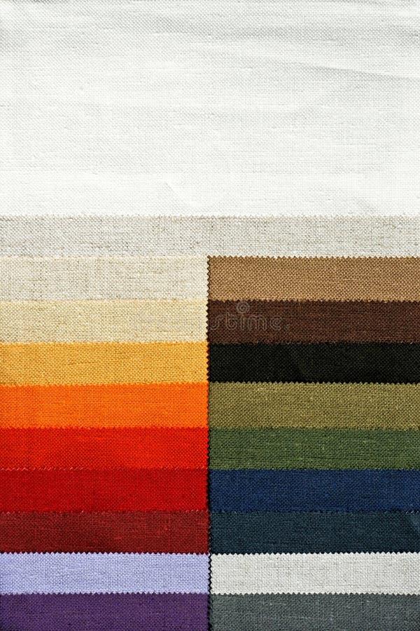 Spettro della tessile fotografia stock