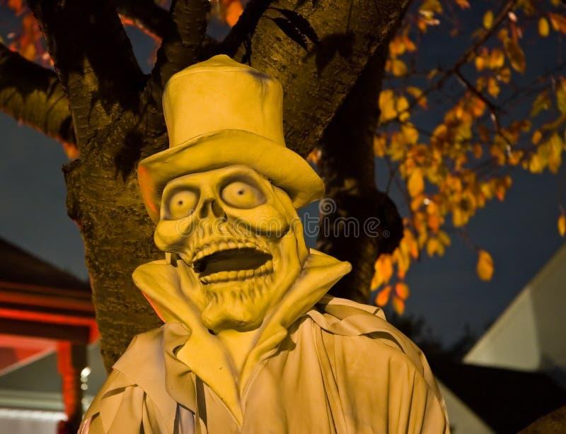 Spettro di Halloween alla notte - 2 fotografia stock