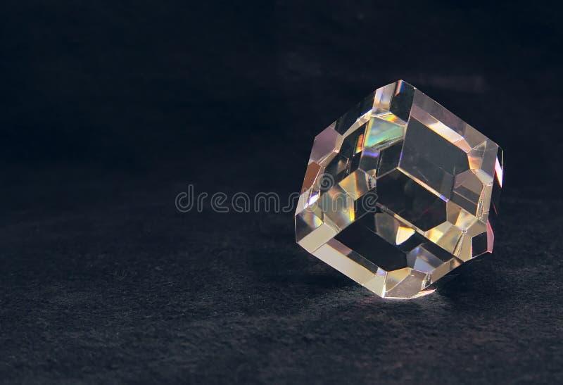 Spettro di vetro fotografie stock