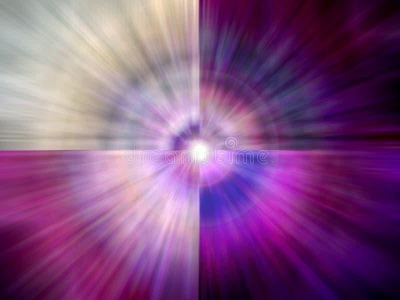 Spettro spiritoso variopinto illustrazione vettoriale