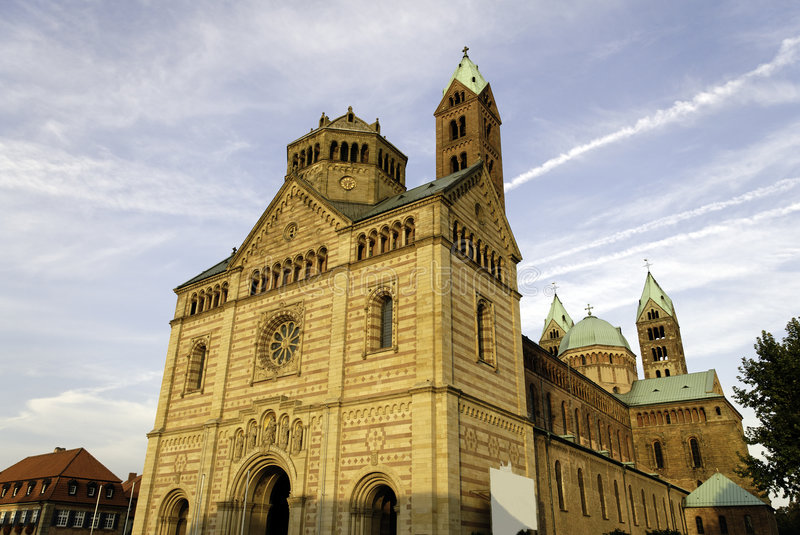 Download Speyer Cathedral stock image. Image of middle, cathedral - 7429563