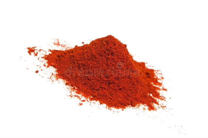 Spezia del pepe rosso immagini stock
