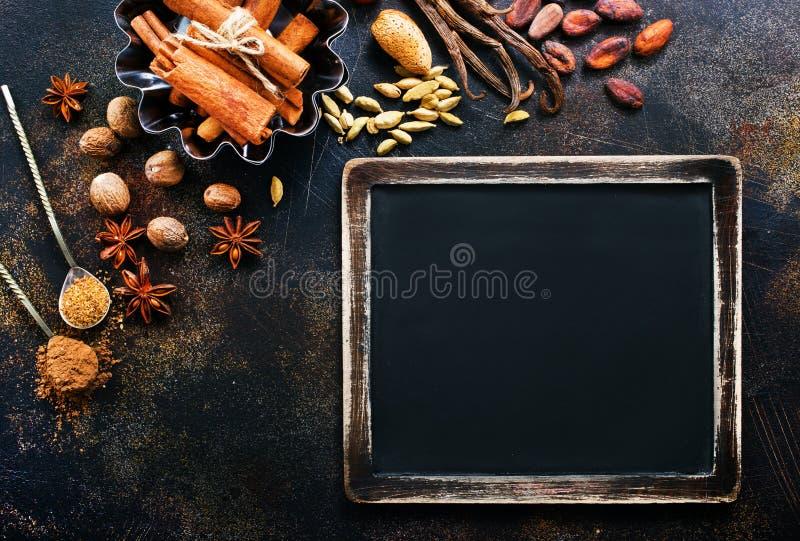 Spezia dell'aroma fotografia stock