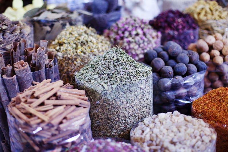 Spezia Souk del Dubai immagine stock