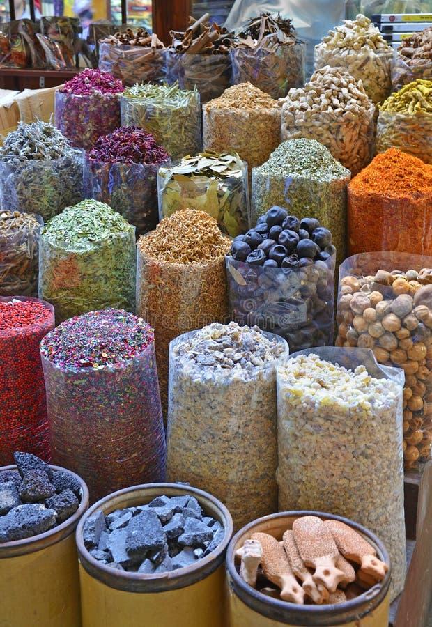 Spezia Souk della Doubai fotografie stock libere da diritti