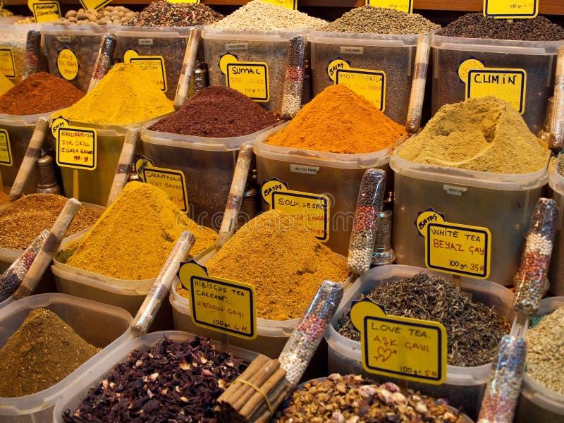 Spezie e tè turchi immagini stock libere da diritti