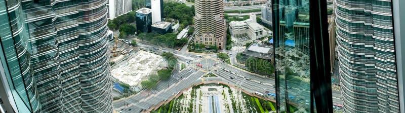 Spezielle Gebäude - Twin Tower stockfotos