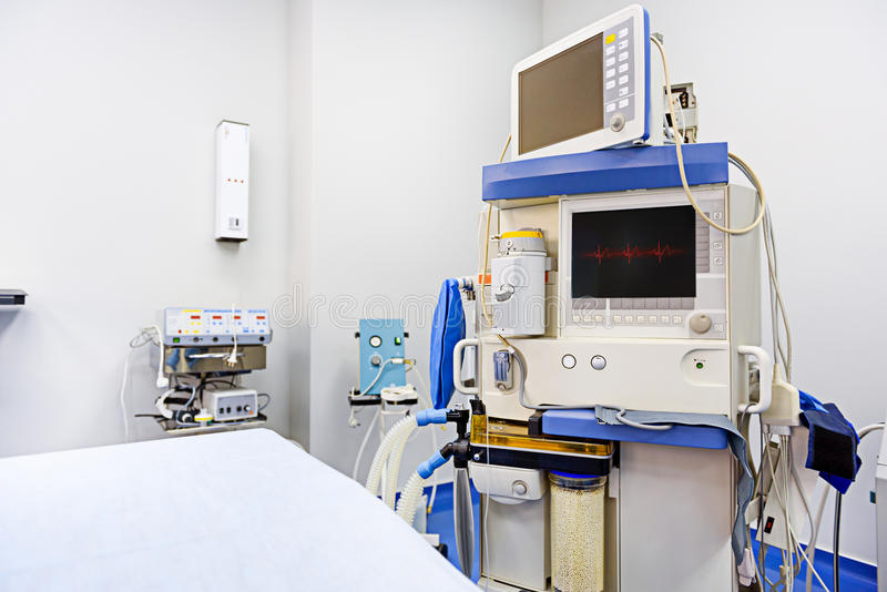 Spezieller medizinischer Apparat für das Funktionieren stockbilder