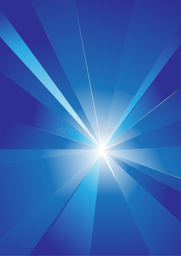 Spezieller Sonnendurchbruch (Supernova) Lizenzfreies Stockfoto