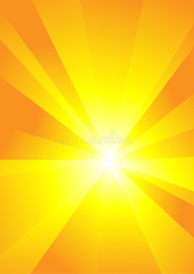 Spezieller Sonnendurchbruch (Supernova) lizenzfreie abbildung