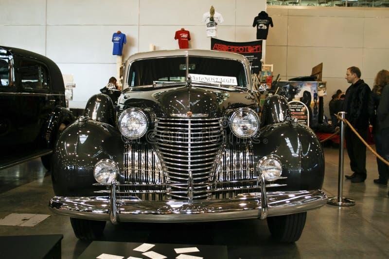 Spezielles Baumuster 6019S, 1940 Cadillac-Fleetwood 60 lizenzfreies stockbild