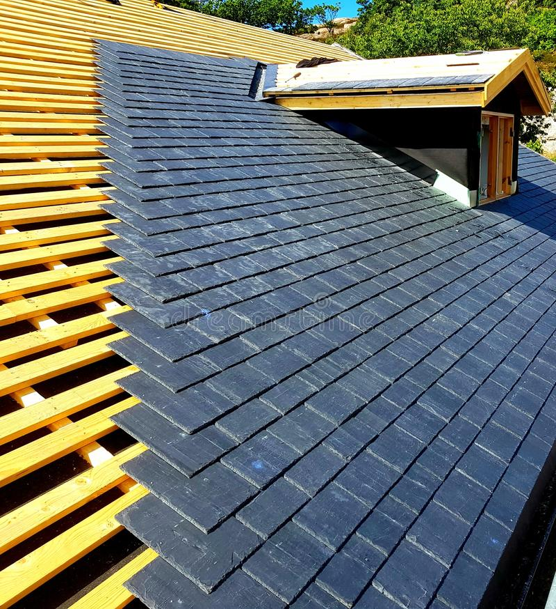 Spezielles Dach stockfotos
