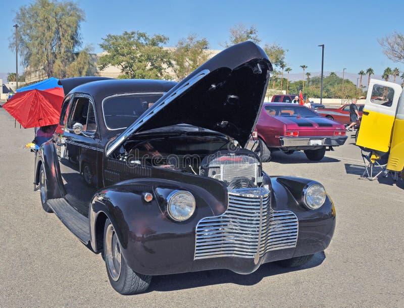 Spezielles deluxes Verein-Coupé 1940 Chevrolets stockbild