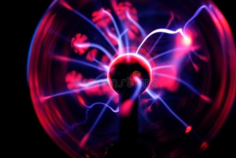 Sphère électrique de plasma images libres de droits