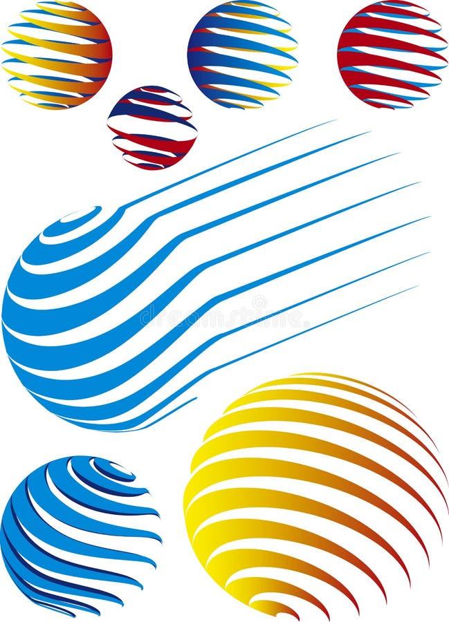 Sphère illustration stock