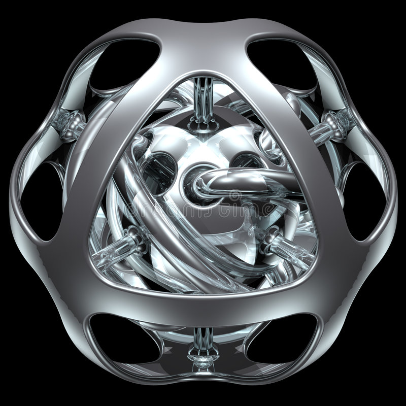 Sphère abstraite 006 image stock