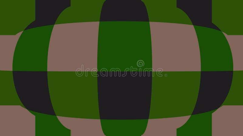 Sphère avec des contrôleurs Fond très beau et original ! illustration de vecteur