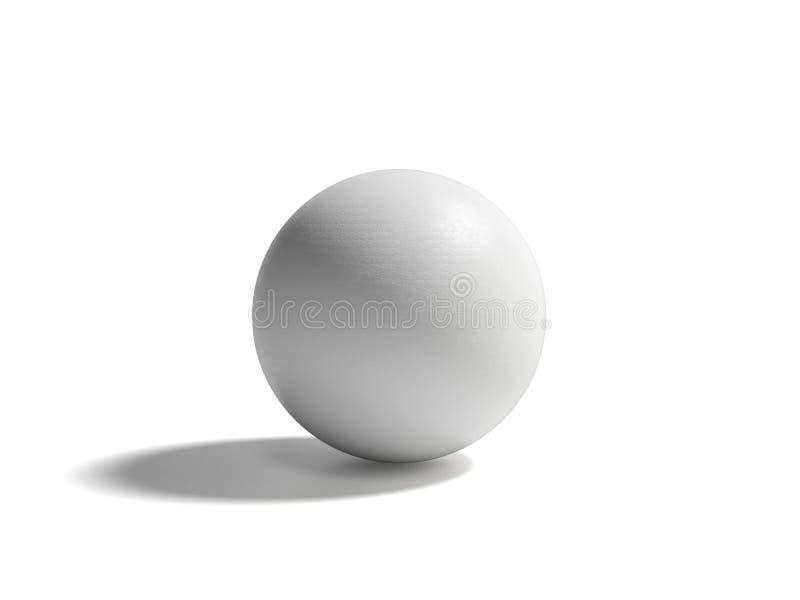 Sphère avec l'ombre photos stock
