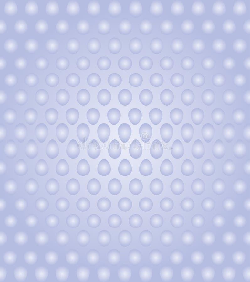 sphère 3D sur le fond blanc et bleu Illustration de vecteur illustration libre de droits