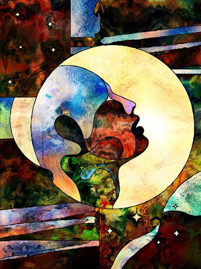 Sphère de la connaissance illustration libre de droits