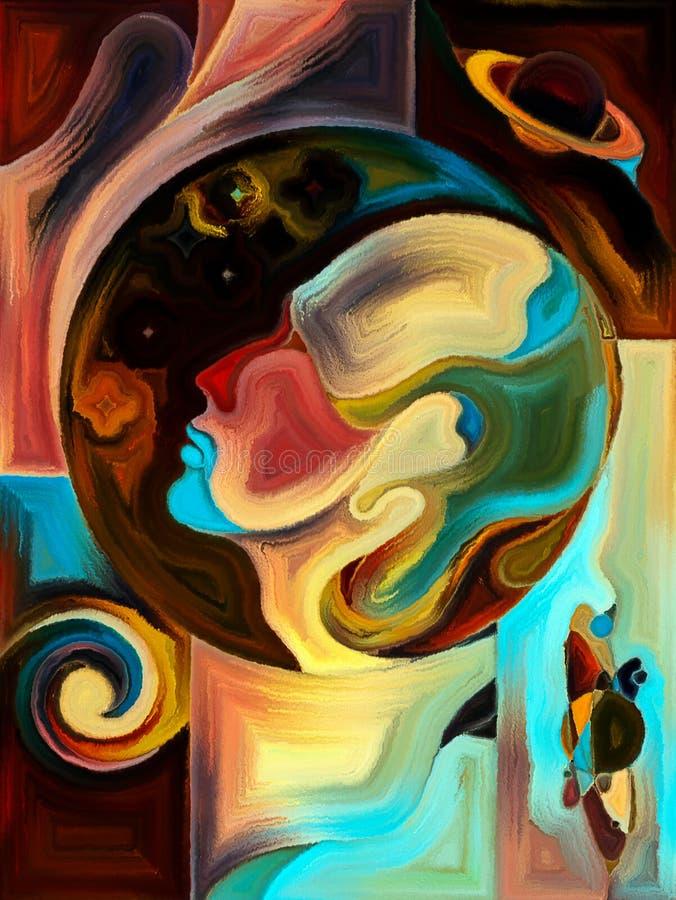 Sphère de la connaissance illustration de vecteur