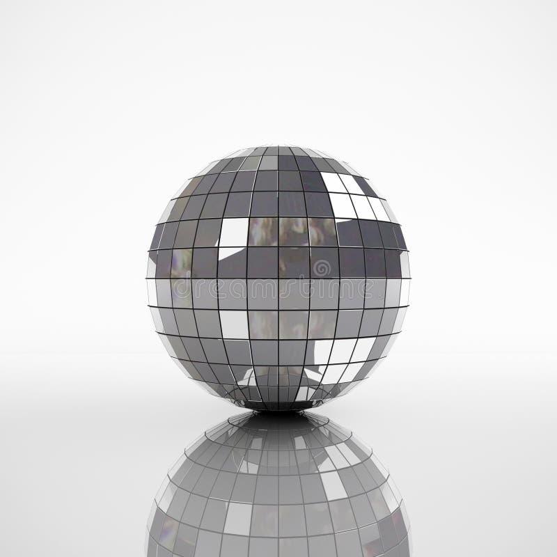 Sphère de miroir illustration libre de droits