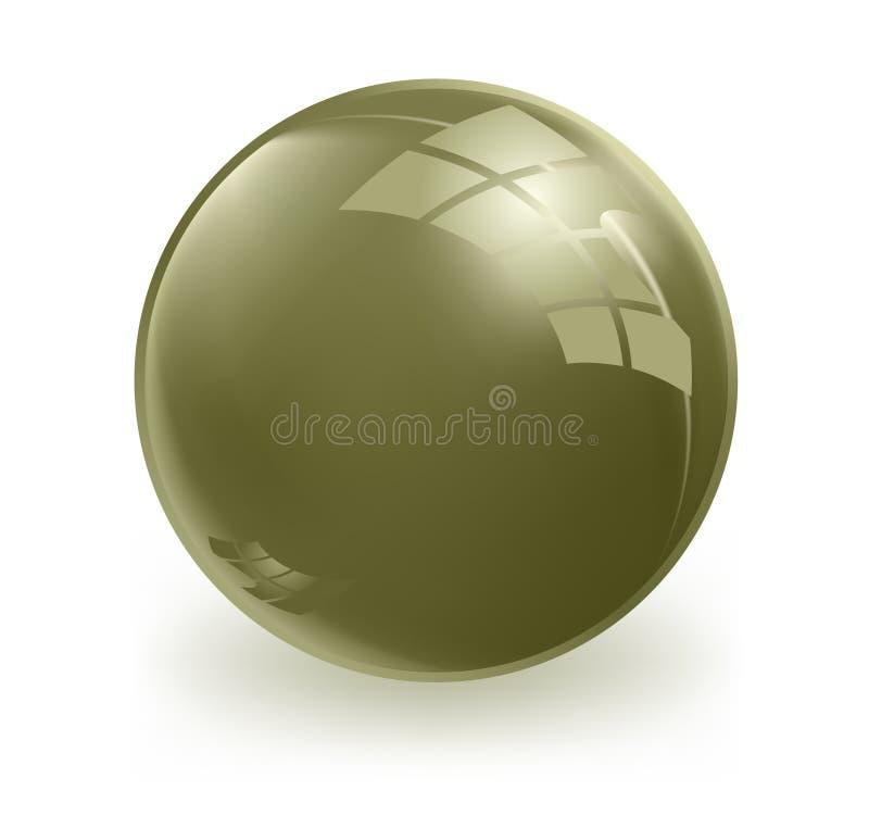 sphère du vecteur 3d illustration de vecteur