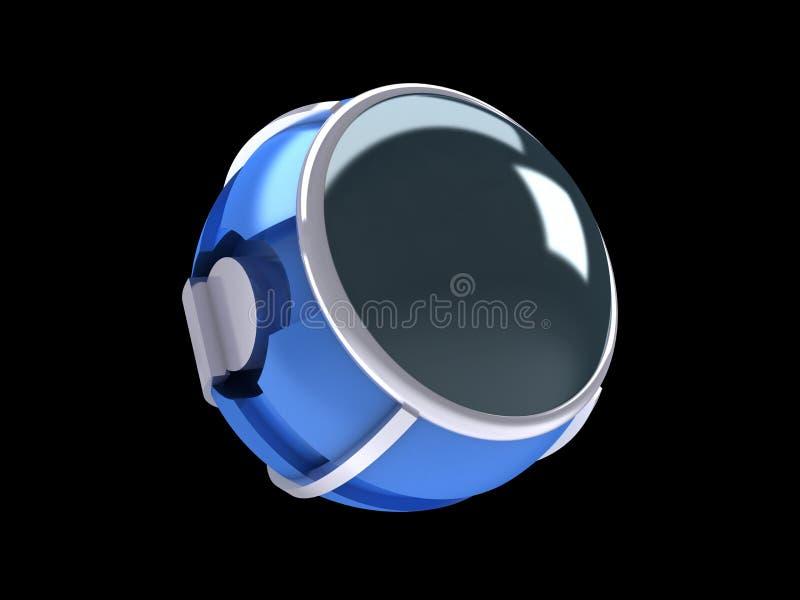 Sphère futuriste illustration stock