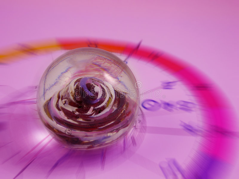 Sphère magique au-dessus d'horoscope photos libres de droits