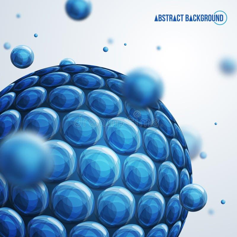 Sphères abstraites illustration de vecteur