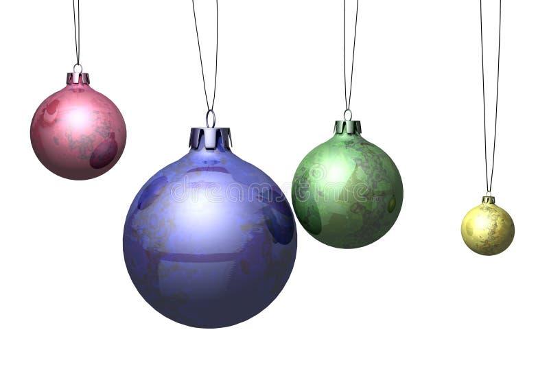 Sphères de Noël images libres de droits