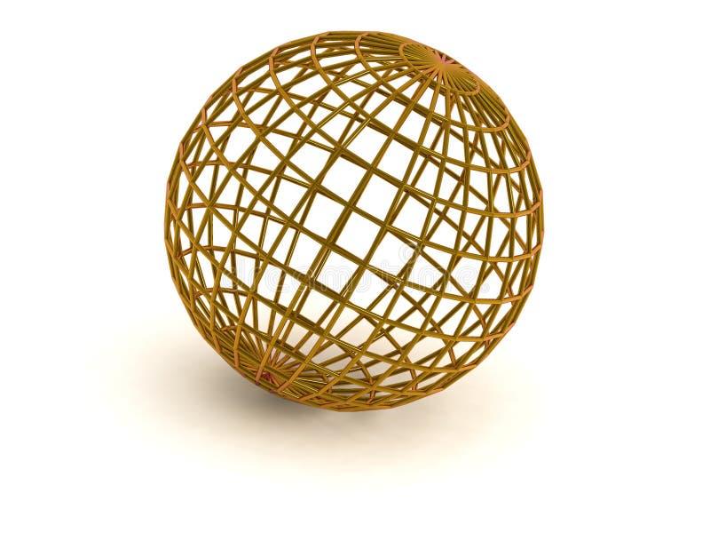 sphere royaltyfri illustrationer
