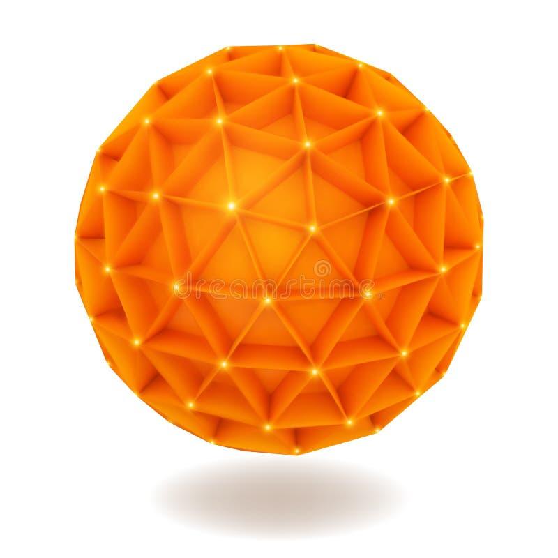 Download Sphere stock vector. Illustration of edgy, edge, brochure - 38277624