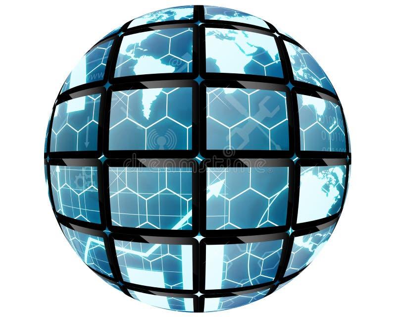 Sphere ball royalty free illustration