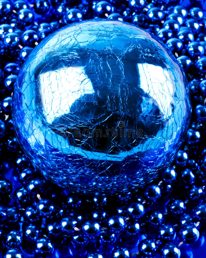 Sphere And Beads Stock Photo